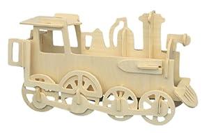 Locomotive - Woodcraft Construction Kit