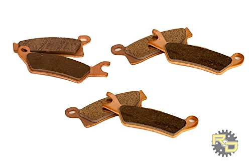 2015 2016 Can-Am Outlander 1000 XMR Front & Rear Severe Duty Brake Pads (Can Am Outlander Parts compare prices)