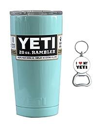 Yeti 20oz Rambler Tumbler - Seafoam Teal - Insulated Stainless Steel Cup Mug Drink Holder
