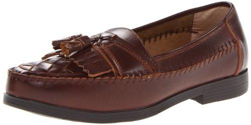 Deer Stags Men's Herman Slip-On Loafer,Dark Maple,8.5 W US