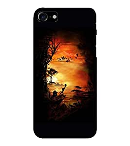 EPICCASE Simba and Pumon Mobile Back Case Cover For Apple iPhone 7 (Designer Case)