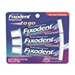 Fixodent Food Seal To Go Denture Adhe...
