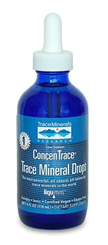 Trace Minerals Concentrace Trace Mineral Drops-Glass, 4-Ounce