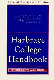 Harbrace College HandbookWinifred Bryan Horner