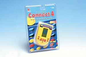 Handheld Electronic Connect 4