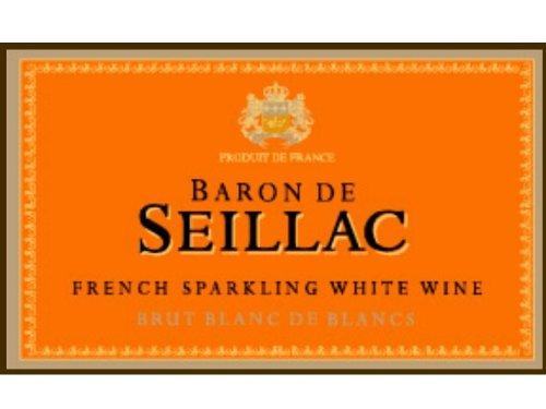 Baron de Seillac NV  Brut Blanc de Blancs 750 mL
