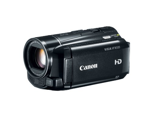 Why Choose Canon VIXIA HF M500 Full HD 10x Image Stabilized Camcorder with One SDXC Card Slot and 3....
