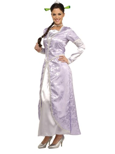 Princess Fiona Costume White Gown Shrek Movie Costume
