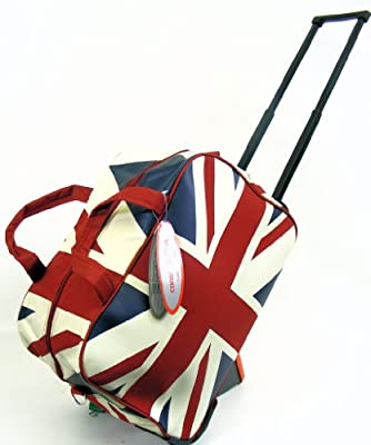 Constellation. Union Jack Wheeled Holdall by Ultimate products