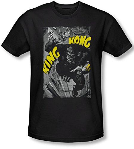 King Kong-Poster da frantumazione-Maglietta a maniche corte