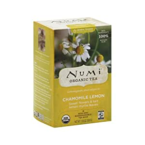 NUM10150 - Organic Teas and Teasans