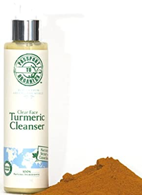 Best Cheap Deal for Clear Face Turmeric Cream Cleanser - Paraben Free - Organic by Passport to Organics - Free 2 Day Shipping Available