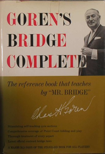Goren's Bridge Complete., Charles. Goren