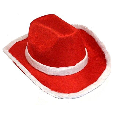 Santa Cowboy Hat - 1