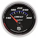 Auto Meter 6148 Cobalt Short Sweep Electric Oil Temperature Gauge