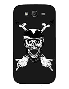 Back Cover for Samsung Galaxy Grand 2 Rider's Skull