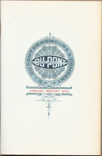 Du Pont Annual Report 1952