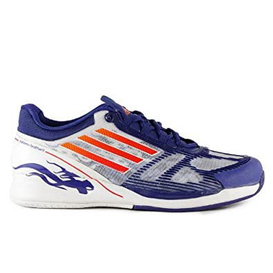 Buy adidas CC Adizero Feather II Mens Red White Blue Tennis Shoes by adidas