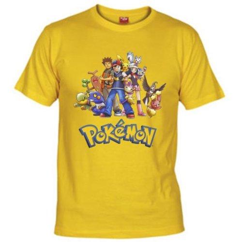 Camiseta personajes Pokemon Niños 7-8 años