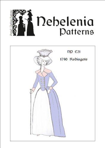 1790s Redingote Pattern (Size Bust 37