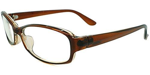 (リピード) REPIDO メガネ メンズ 眼鏡 めがね 伊達 ダテ セルフレーム スモール フォックス型 クリアレンズ DKブラウン/クリアー
