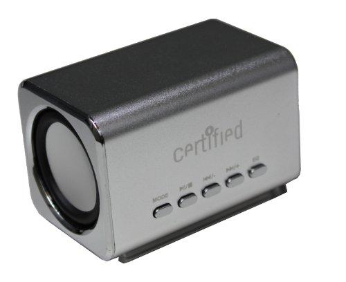 Certified Mini Portable Speaker (Silver)