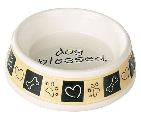 Just Be Paws Dog Blessed Bowl Gift Boxed