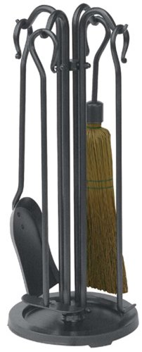 Uniflame 5 PIECE OLDE WORLD IRON MINI FIRESET