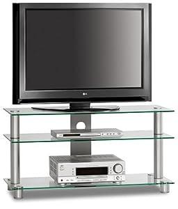 JustRack TV 1053 Aluminium Universalmöbel für Flachbildschirme, TV  und Audio Geräte  Überprüfung und Beschreibung