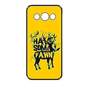 Vibhar printed case back cover for Samsung Galaxy Grand 2 Fawn
