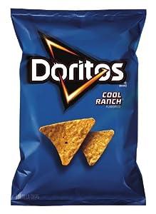 Doritos Tortilla Chips, Cool Ranch, 11 Oz