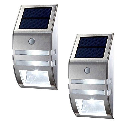 Oxyled pack solar powered automatic motion sensor