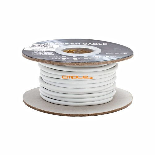 18Awg Cl2 Rated 2 Conductor Loud Speaker Cable 50Ft For In-Wall Installation