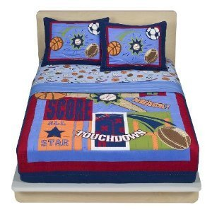 Circo Sports Quilt Set - Twin front-959337