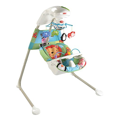 Fisher Price Rainforest Soothing Cradle Swing