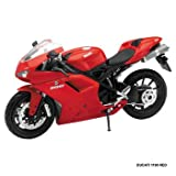 New Ray Ducati 1198 Replica Model 1:12 Scale/Red