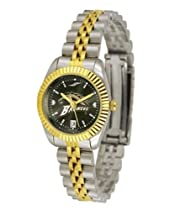 Western Michigan University Ladies Gold Dress Watch