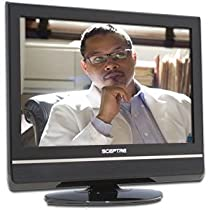 SCEPTRE 19 16:10 4ms 720p LCD HDTV X19GV-HDTV