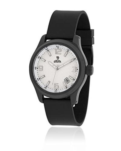Dogma Reloj con movimiento cuarzo suizo DG7055B Negro 49  mm