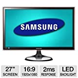 Samsung S27A550H 27-Inch Class LED Monitor – Black