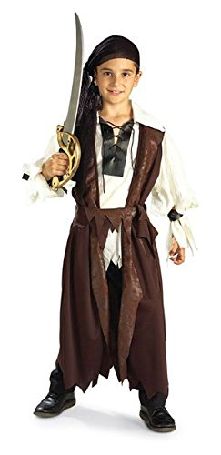 Caribbean Pirate Costume - Large