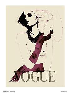 Vogue Pop Art Poster Print by Wig (OTW059)