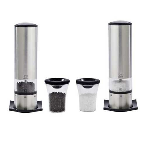 Peugeot Elis Sense Duo Electric Salt and Pepper Mills Gift Set with U'Select