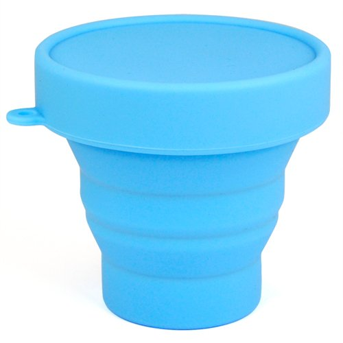 smallwise-trading-space-saving-pop-up-camping-mug-collapsible-folding-travel-cup-with-case-blue