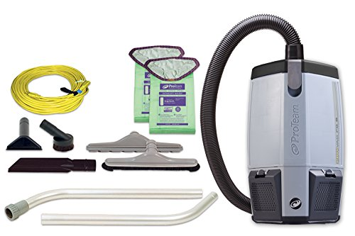 proteam-provac-fs-6-commercial-backpack-vacuum-with-tool-kit-6-quart-corded