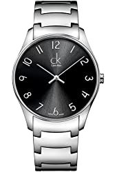 Jacob Time K4D2114X Calvin Klein Ck Classic Stainless Steel Mens Watch