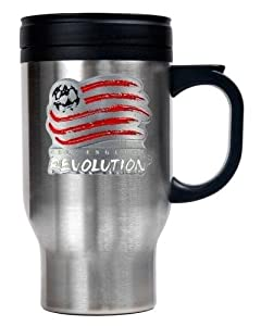 MLS New England Revolution 16 Ounce Stainless ST-Shirtl Travel Tumbler (Primary Team... by Great American Products