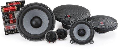 """165Vr3 - Focal 6.5"""" + 4"""" Polyglass 3-Way Component Speakers"""