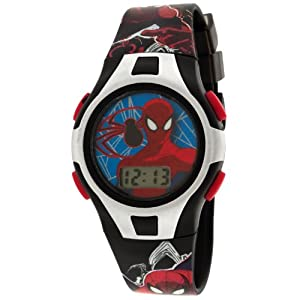 Marvel Comics Kids' SPM052T Backpack and LCD Watch Set