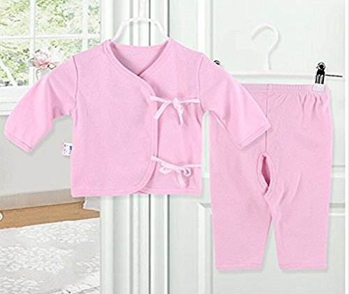 [icekon Comfortable Cotton Lacing Underwear 2 Piece Suits for Baby Pink S Size] (Agent Carter Halloween Costume)